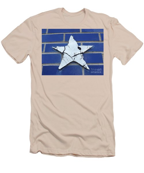 Old Glorys Star Men's T-Shirt (Slim Fit) by Erick Schmidt