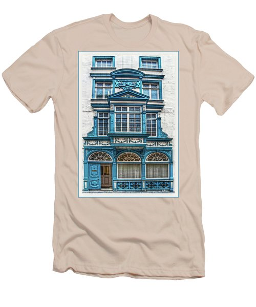 Men's T-Shirt (Athletic Fit) featuring the digital art Old Irish Architecture by Hanny Heim