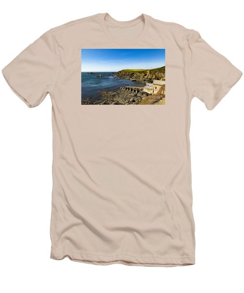 Old Life Boat Station Men's T-Shirt (Slim Fit) by Brian Roscorla