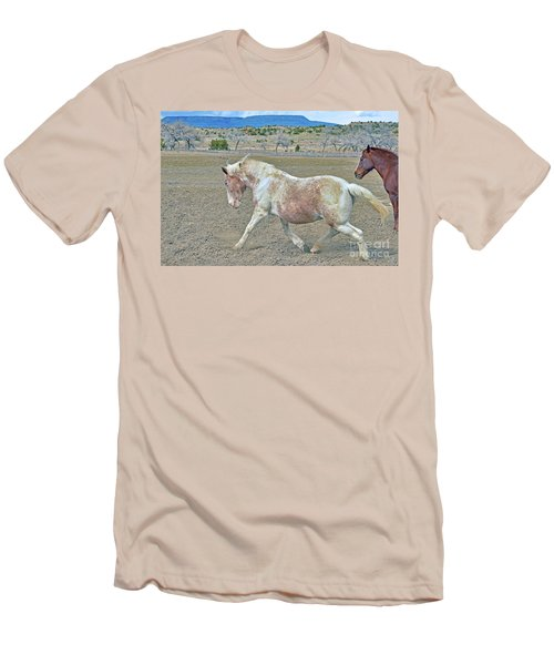 Men's T-Shirt (Slim Fit) featuring the photograph Old Mare by Debby Pueschel