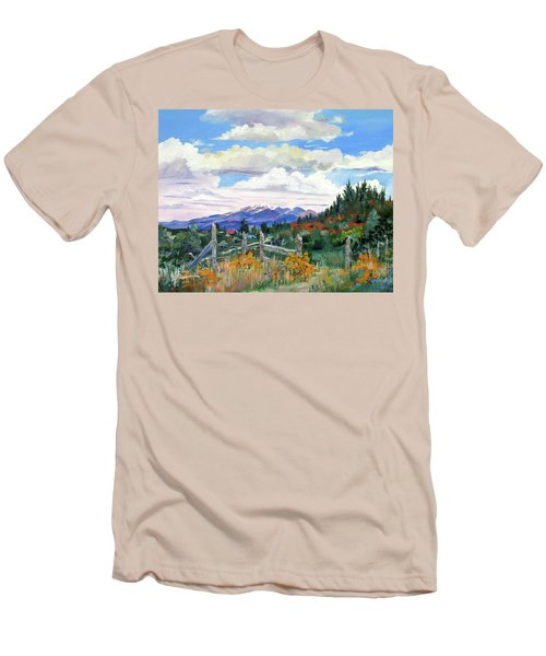 Old North Fence-in Colorado Men's T-Shirt (Athletic Fit)