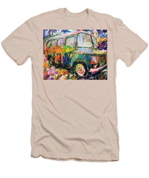 Old Paint Car Men's T-Shirt (Athletic Fit)