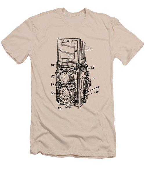 Old Rollie Vintage Camera T-shirt Men's T-Shirt (Athletic Fit)