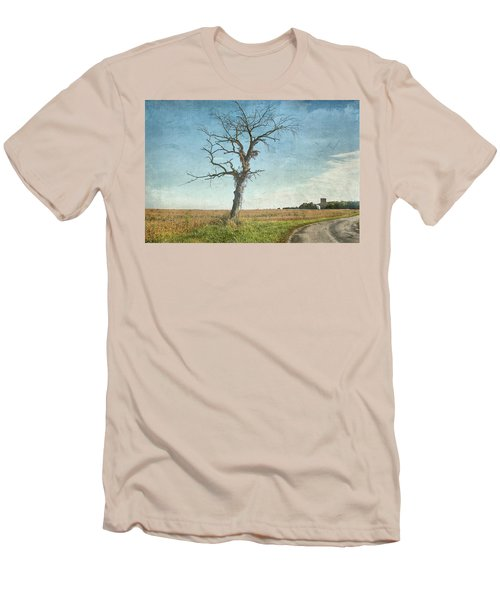 Old Tree  Men's T-Shirt (Slim Fit) by Betty Pauwels