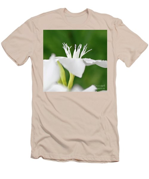 Men's T-Shirt (Slim Fit) featuring the photograph Oleander Ed Barr 2 by Wilhelm Hufnagl