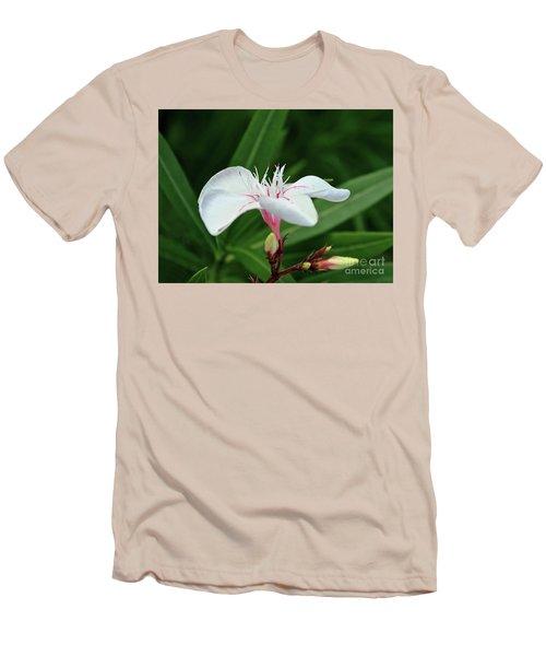 Oleander Harriet Newding  1 Men's T-Shirt (Slim Fit) by Wilhelm Hufnagl