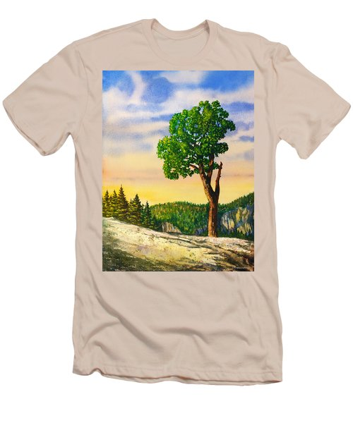 Olmsted Point Tree Men's T-Shirt (Slim Fit) by Douglas Castleman