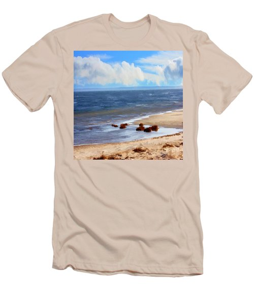 On A Clear Day Men's T-Shirt (Athletic Fit)