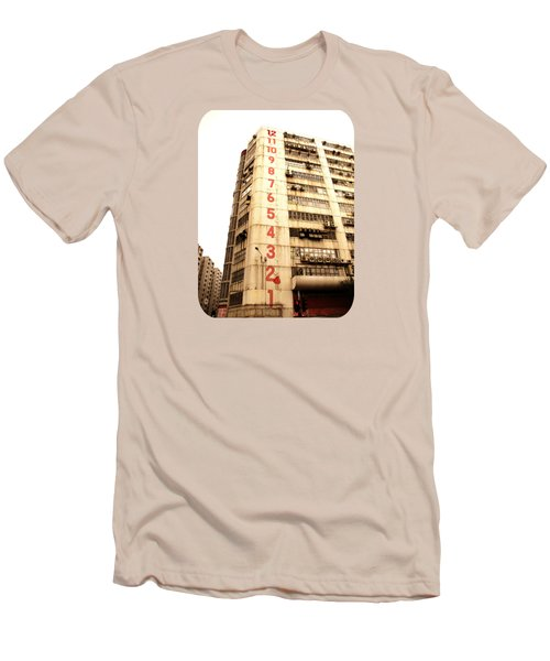 Men's T-Shirt (Slim Fit) featuring the photograph On A Dozen Different Levels by Ethna Gillespie