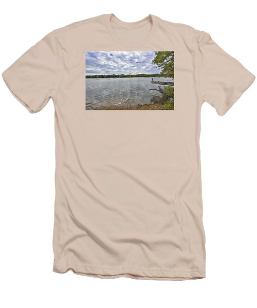 On The Banks Of The Potomac River Men's T-Shirt (Athletic Fit)