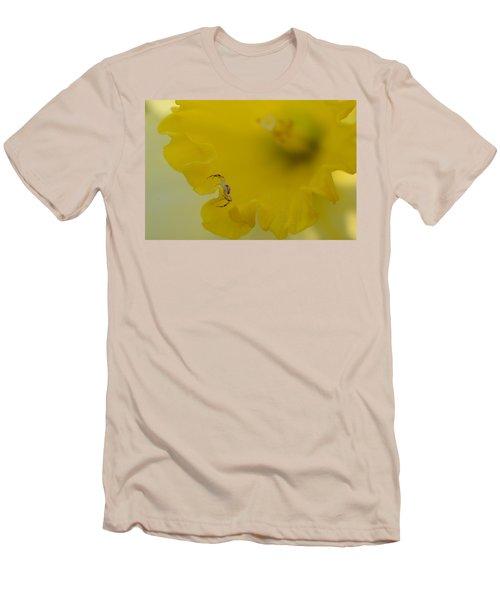 On The Edge Men's T-Shirt (Slim Fit) by Janet Rockburn