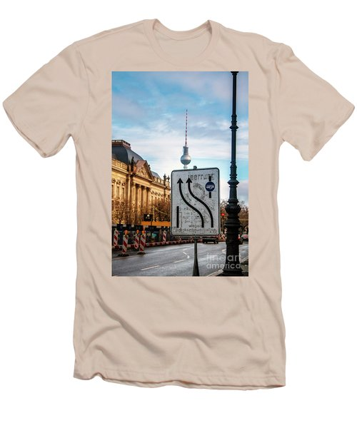 On The Road In Berlin Men's T-Shirt (Athletic Fit)