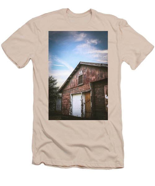 Men's T-Shirt (Slim Fit) featuring the photograph Once Industrial - Series 1 by Trish Mistric