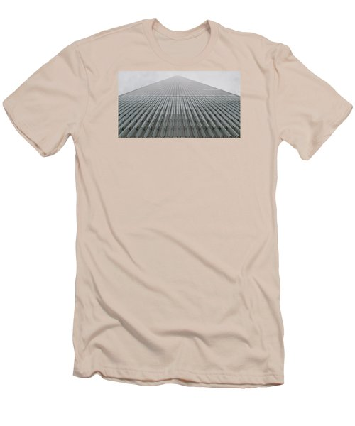 One World Trade Men's T-Shirt (Slim Fit) by Christopher Kirby