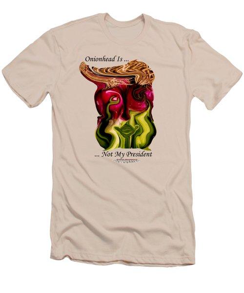 Onionhead Transparency Men's T-Shirt (Slim Fit) by Robert Woodward