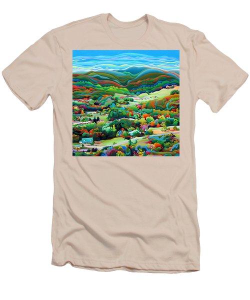 Onset Of The Appalachian Wonderfall Men's T-Shirt (Athletic Fit)