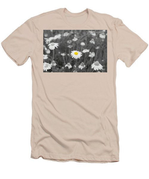 Men's T-Shirt (Slim Fit) featuring the photograph Oopsy Daisy by Benanne Stiens