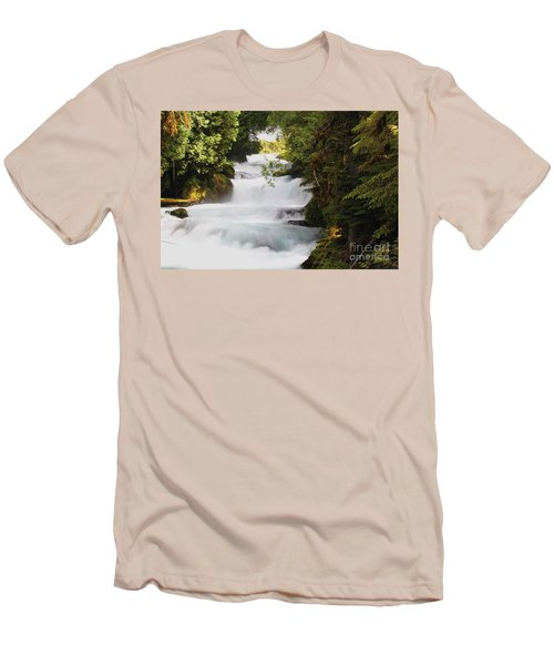 Oregon Cascade Men's T-Shirt (Athletic Fit)