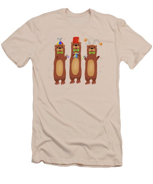 Otter Party And You Are Invited Men's T-Shirt (Athletic Fit)
