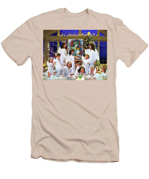 Our 2017 Christmas Angels Men's T-Shirt (Athletic Fit)
