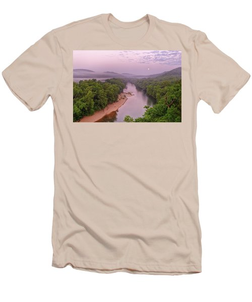 Owl's Bend Men's T-Shirt (Slim Fit) by Robert Charity