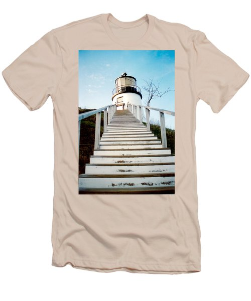 Owl's Head Light Men's T-Shirt (Athletic Fit)