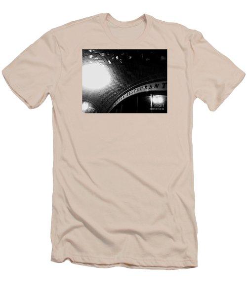 Oyster Bar At Grand Central Men's T-Shirt (Athletic Fit)