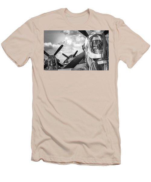 P-51 Mustang - Series 4 Men's T-Shirt (Athletic Fit)