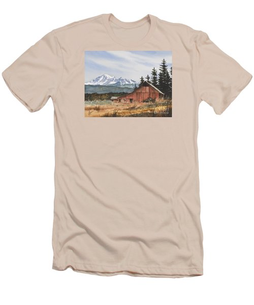 Pacific Northwest Landscape Men's T-Shirt (Slim Fit) by James Williamson