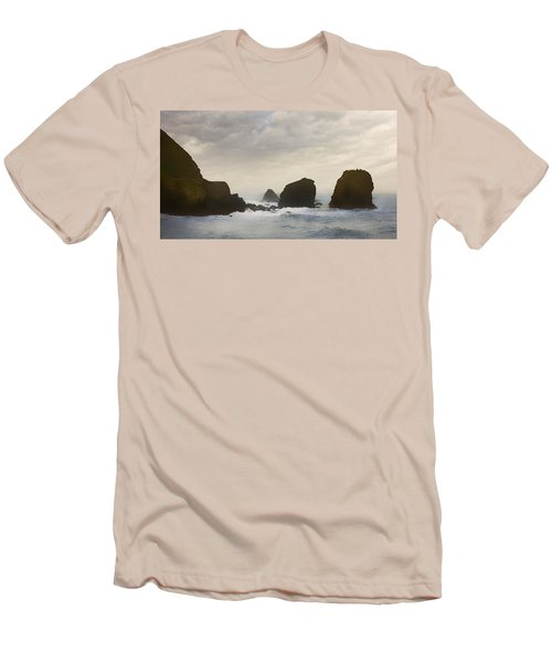 Pacifica Surf Men's T-Shirt (Athletic Fit)