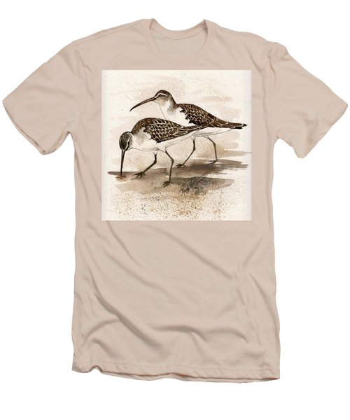 Pair Of Sandpipers Men's T-Shirt (Athletic Fit)