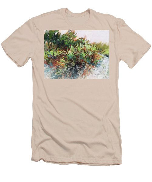 Palmetto Dance Men's T-Shirt (Slim Fit) by Mary Hubley