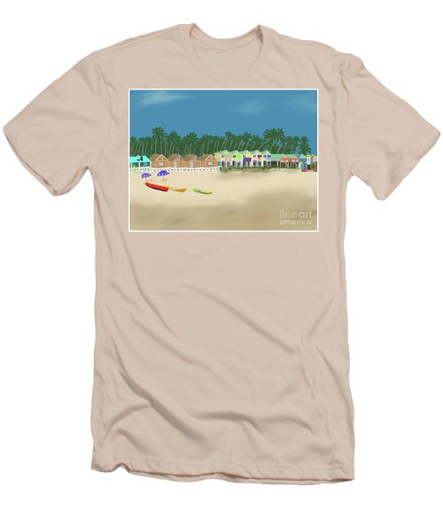 Palolem Beach Goa Men's T-Shirt (Athletic Fit)