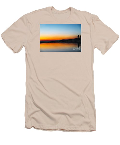 Men's T-Shirt (Slim Fit) featuring the photograph Pammukale by Yuri Santin