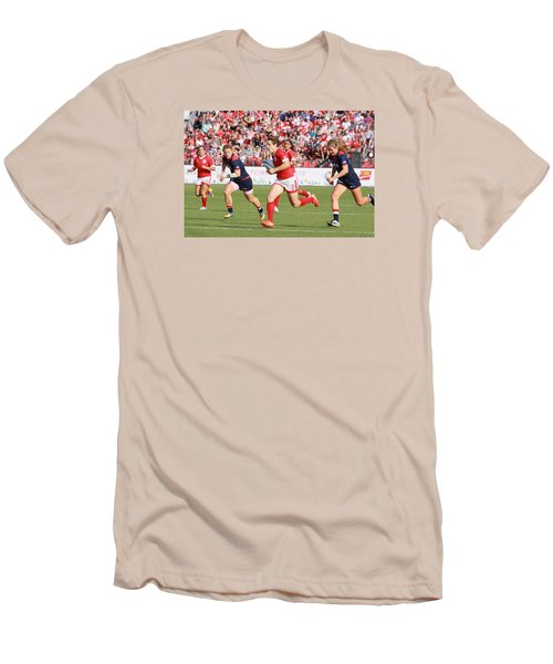 Panam Games. Womens' Rugby 7's Men's T-Shirt (Athletic Fit)
