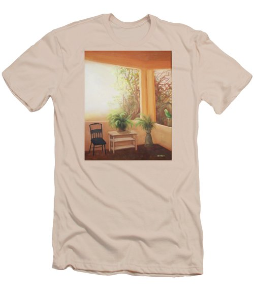 Pancho Come Home Men's T-Shirt (Slim Fit) by Irene Corey