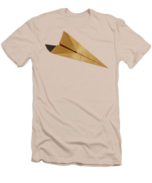Paper Airplanes Of Wood 15 Men's T-Shirt (Slim Fit) by YoPedro