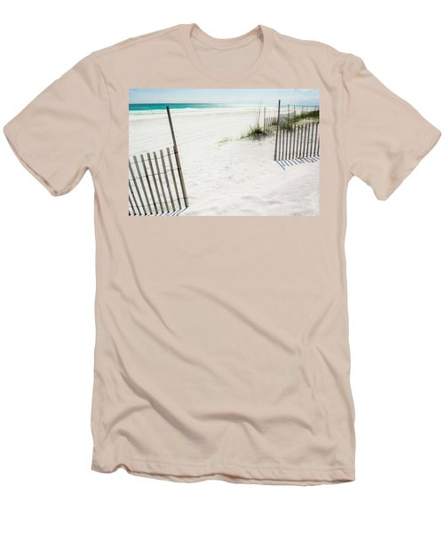 Paradise Scenery Men's T-Shirt (Slim Fit) by Shelby  Young