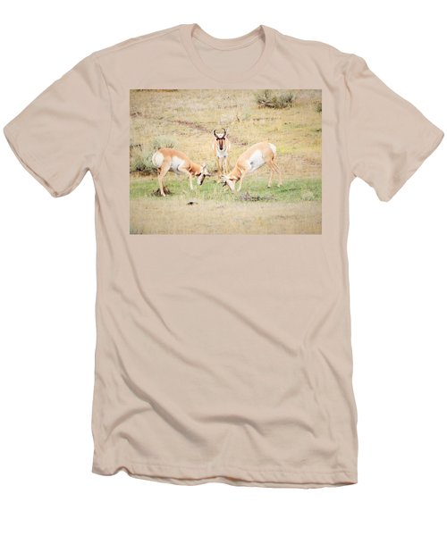 Parent Watching Sparring  Men's T-Shirt (Athletic Fit)
