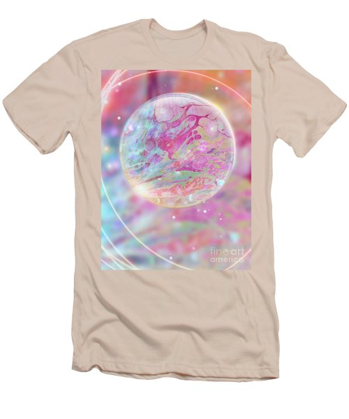 Pastel Dream Sphere Men's T-Shirt (Athletic Fit)