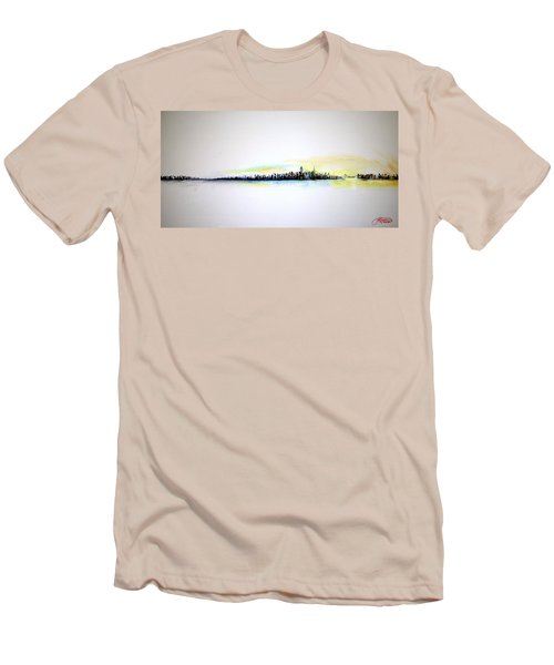 Pastel Morning Men's T-Shirt (Slim Fit)