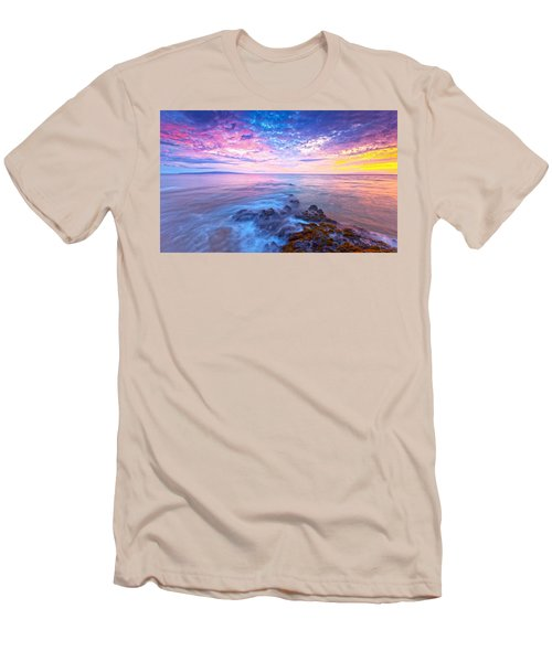 Pastel Skies Men's T-Shirt (Athletic Fit)