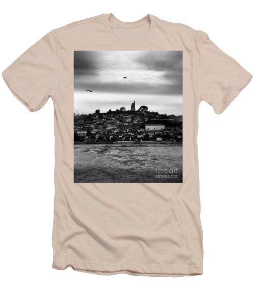 Patzcuaro Men's T-Shirt (Slim Fit) by Ana Mireles