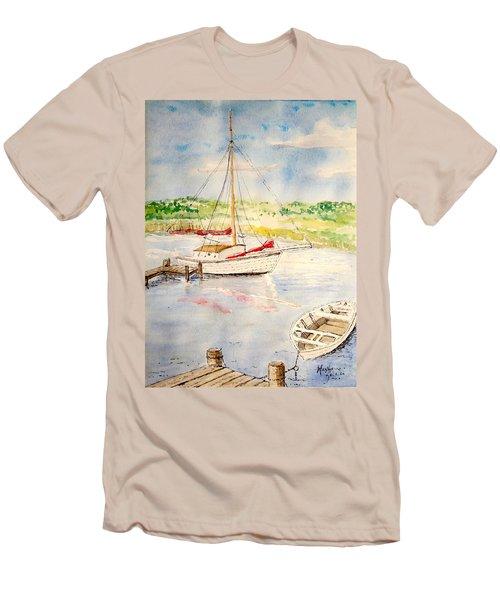 Peaceful Harbor Men's T-Shirt (Athletic Fit)