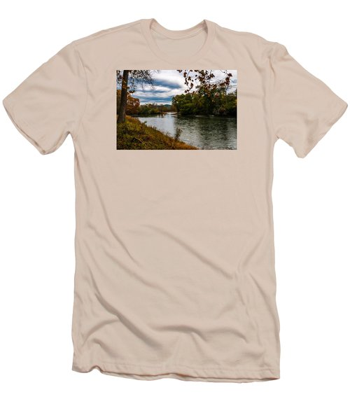 Peaceful River Men's T-Shirt (Athletic Fit)