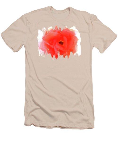 Peachy Keen Men's T-Shirt (Slim Fit) by Anita Faye