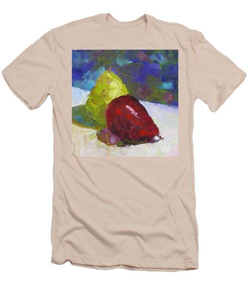 Pear Pair Men's T-Shirt (Slim Fit) by Susan Woodward