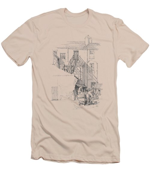 Peel Back Street Men's T-Shirt (Athletic Fit)