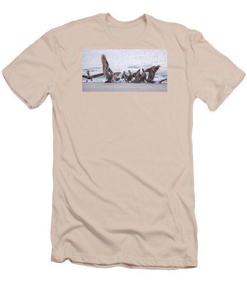 Pelican Brunch Men's T-Shirt (Athletic Fit)