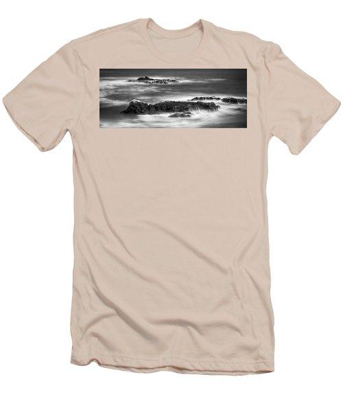 Pelican Rock Men's T-Shirt (Slim Fit) by Hugh Smith